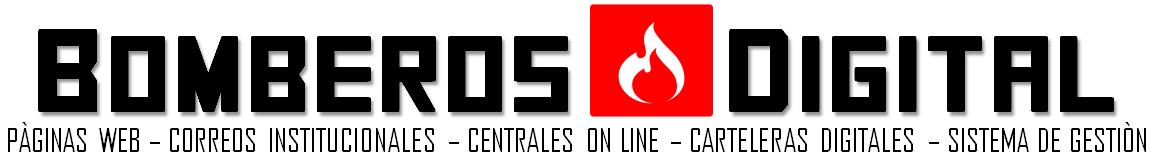 BOMBEROS DIGITAL - PÁGINAS WEB PARA BOMBEROS - EMPRENDO WEB